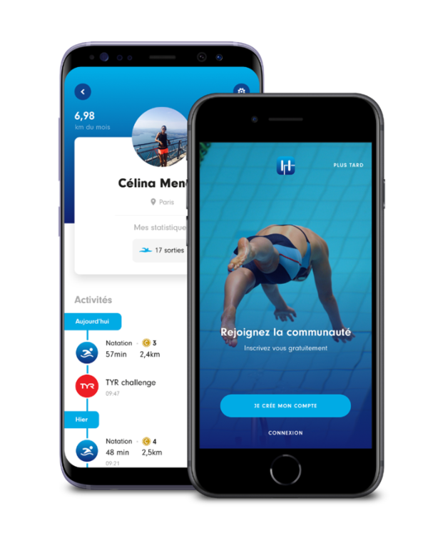 LANCEMENT DE L'APPLICATION SWIMMING HEROES by FFN