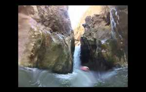 Bande annonce Canyoning stage avril 2014